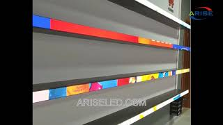UHD LED Display Advertising Video Board Shelf Strip Tag Screen For Supermarket,Smart Signage For Sup