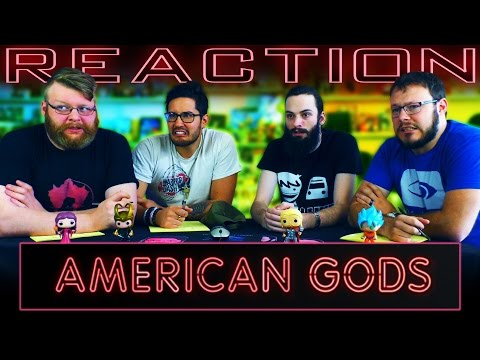 American Gods | Official Trailer REACTION!!
