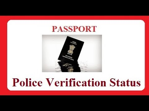 How to Check Passport Police Verification Status Online?