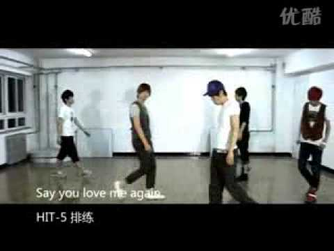 [Fancam]Hit-5--Say you love me again排练