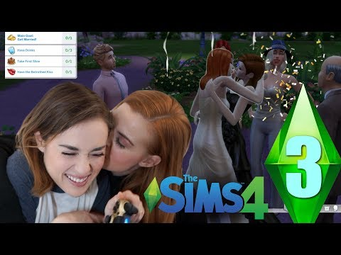 THE SIMS 4 | Our Disaster Wedding! thumbnail
