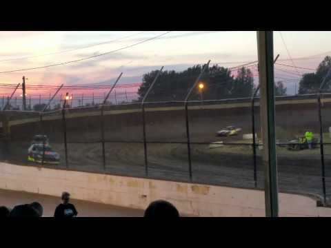 8-7-15 Kankakee county Speedway Sport Compact heat race #2