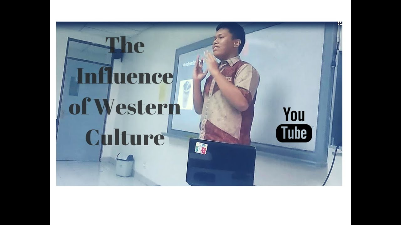 the influence of western culture on The reason why precisely american culture is so influential in the world is due to its leading position among the other counties in technical and broadcasting progress and also because it is the birthplace of pop culture n general now let's take a look on some positive aspects of western culture influence.