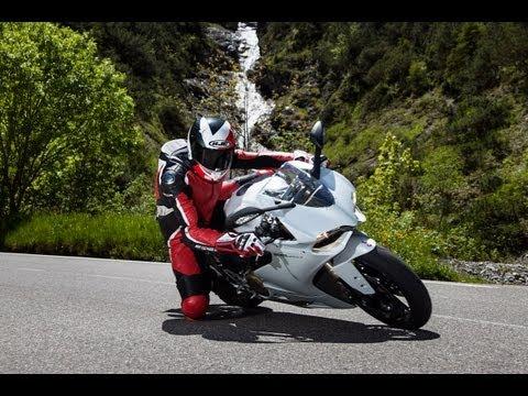 Ducati 1199 Panigale - Test in den Alpen
