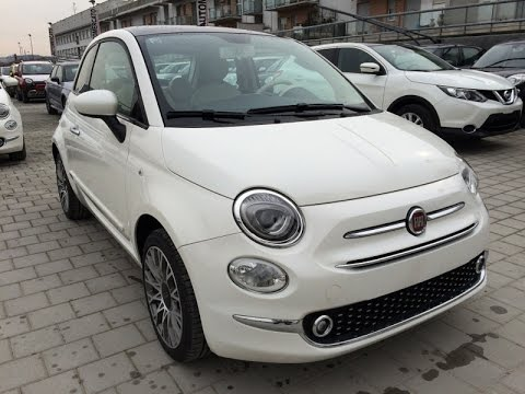fiat 500 1 2 lounge 2016 km0 bianco ghiaccio tristrato youtube. Black Bedroom Furniture Sets. Home Design Ideas
