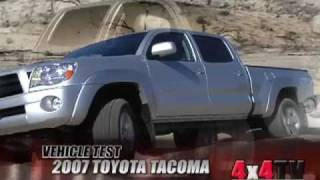 HD VIDEO 2014 TOYOTA TACOMA TRD DOUBLE CAB 4X4 LIFTED FOR SALE INFO WWW SUNSETMOTORS CM