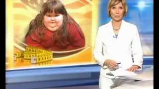 Самый толстый в мире ребенок - 400 pound 7 year old girl