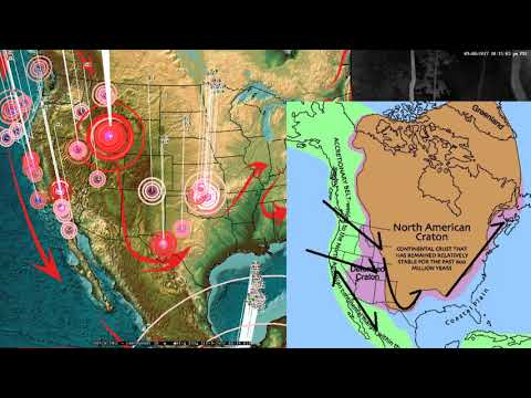 9/08/2017 -- Large earthquake unrest -- West Coast USA on watch -- Major unrest spreading