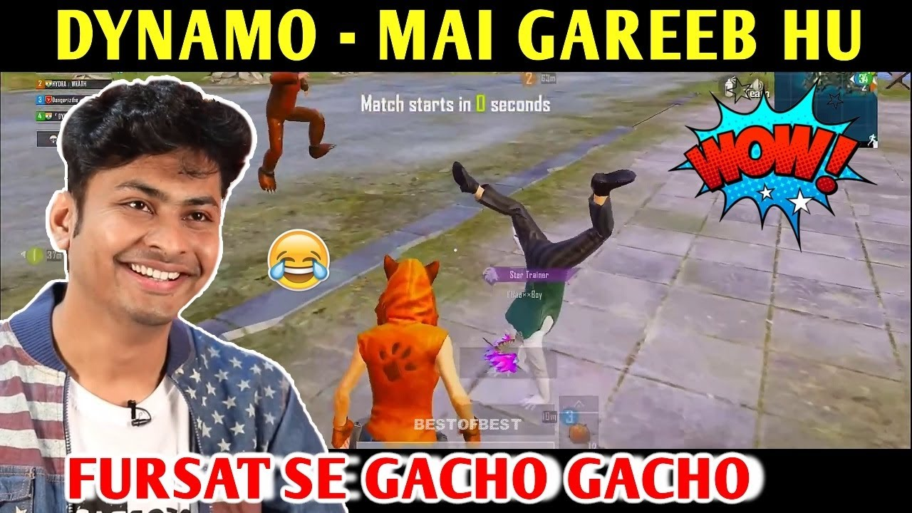 DYNAMO - MAI GAREEB HU | PUBG MOBILE | BEST OF BEST