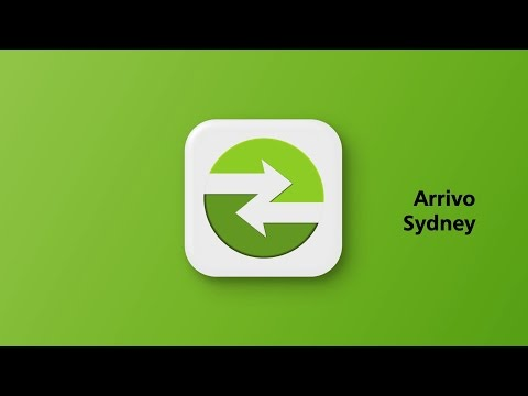 Arrivo Sydney transport app instructional video