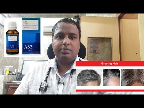 Premature grey hair(बालो का सफ़ेद होना) homoeopathic treatment