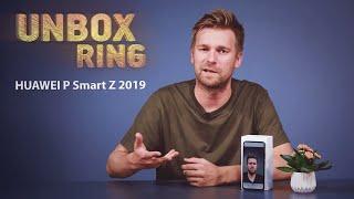 LOVE OR HATE?   HUAWEI P Smart Z 2019   Unbox Ring apžvalga
