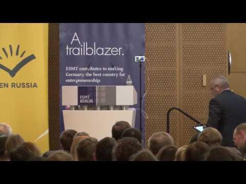 ESMT Open Lecture with Mikhail Khodorkovsky