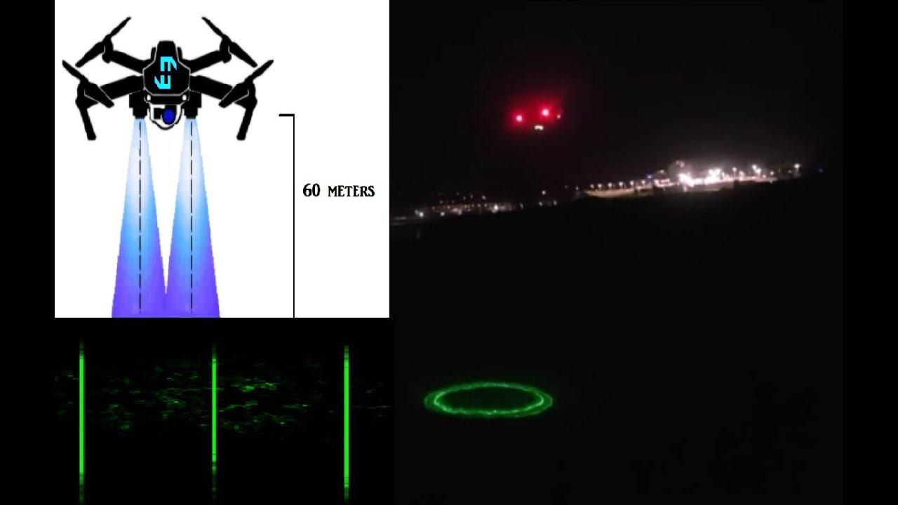 Drone Lidar Laser Test Flight – Scanning of An Irish Coastline