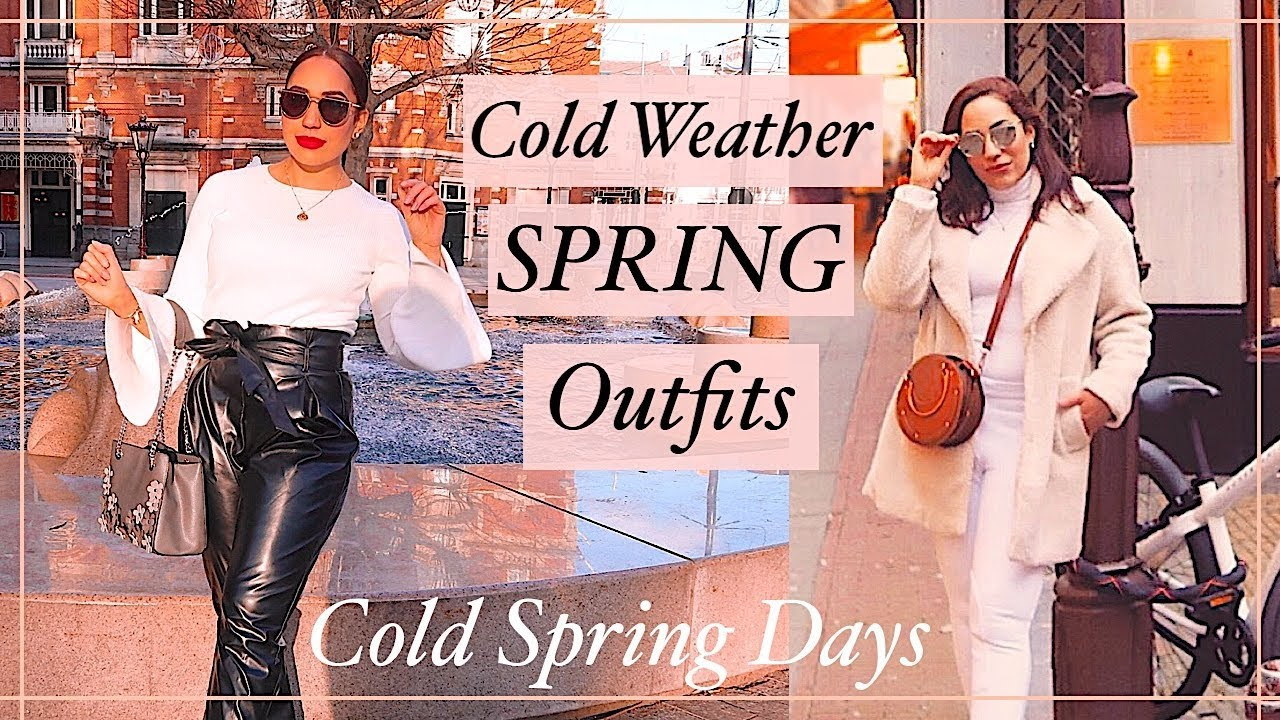 [VIDEO] - Winter to Spring Outfits 2019 | Fashion | Primark | Stradivarius | Forever 21| Alice Goldenvalley 2