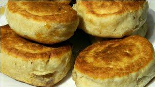 Пышки с Повидлом - без дрожжевые оладьи (пирожки) с начинкой! Просто и Вкусно!