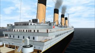 SS NOMADIC / RMS TITANIC for VS7 & VSF, Final Sea Trials