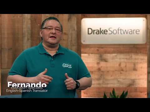 2017 Drake Software Classroom Training in Spanish