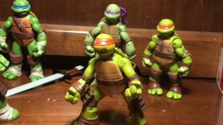 tmnt stop motion episode #7 8 turtles