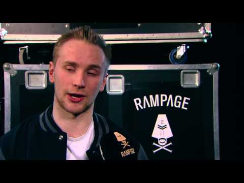 Rampage 2014 - Fox Stevenson interview