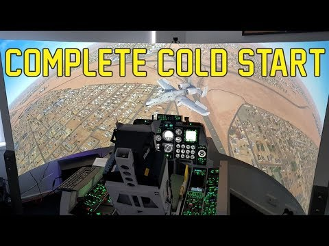 A-10C Warthog Simulator - Complete Cold Start