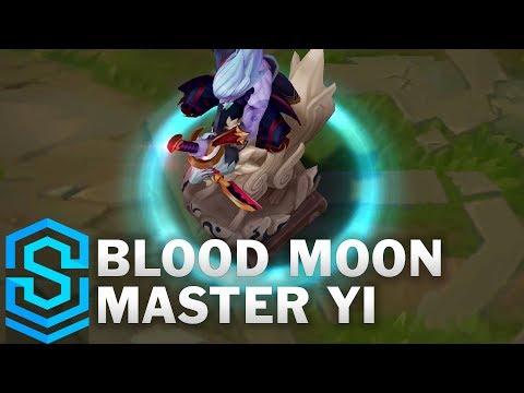Blood Moon Master Yi Skin Spotlight - League of Legends