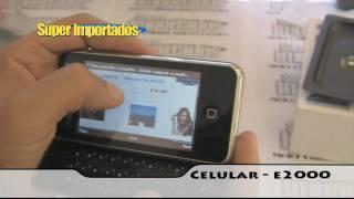 Celular E2000 WIFI, Teclado Deslizable, Doble sim (dual), Tv, Mp3, Camara, WWW.SUPERIMPORTADOS.COM
