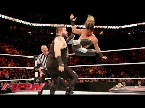 Dolph Ziggler Vs. Kevin Owens: Raw – 21. Dezember 2015