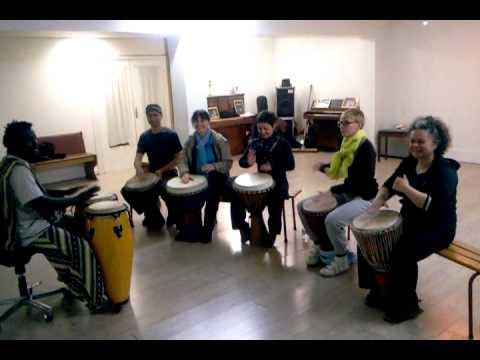 Cour de percussion decines nganga