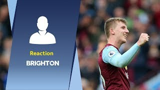 Post Brighton reaction | Matt Targett