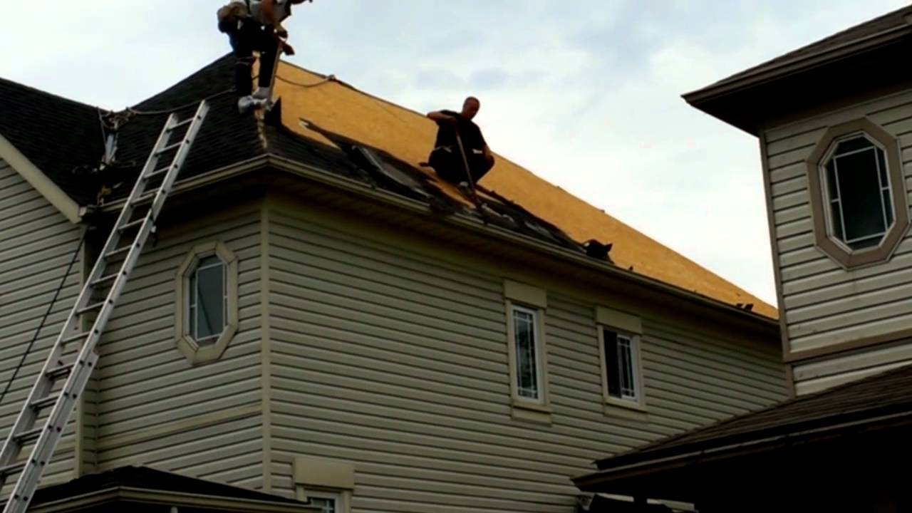 Fantastic Roofing rip on 10/12 Royal City Roofing - YouTube DT07