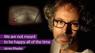 James Rhodes: 'We are not meant to be happy all the time' – Viewsnight