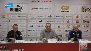 Pressekonferenz nach dem 19. Spieltag