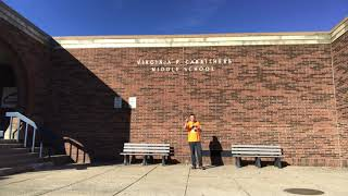 Mr. Peace Visits Carrithers Middle School in Louisville, Kentucky