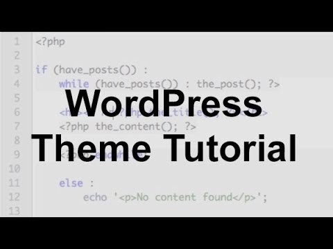 Thesis Theme Tutorial Videos – 716364