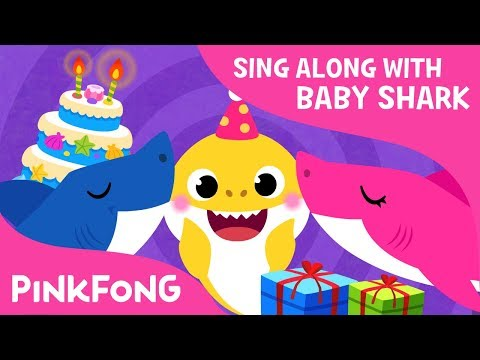 Baby Shark's Birthday | Sing Along with Baby Shark | Pinkfong Songs for Children Mp3