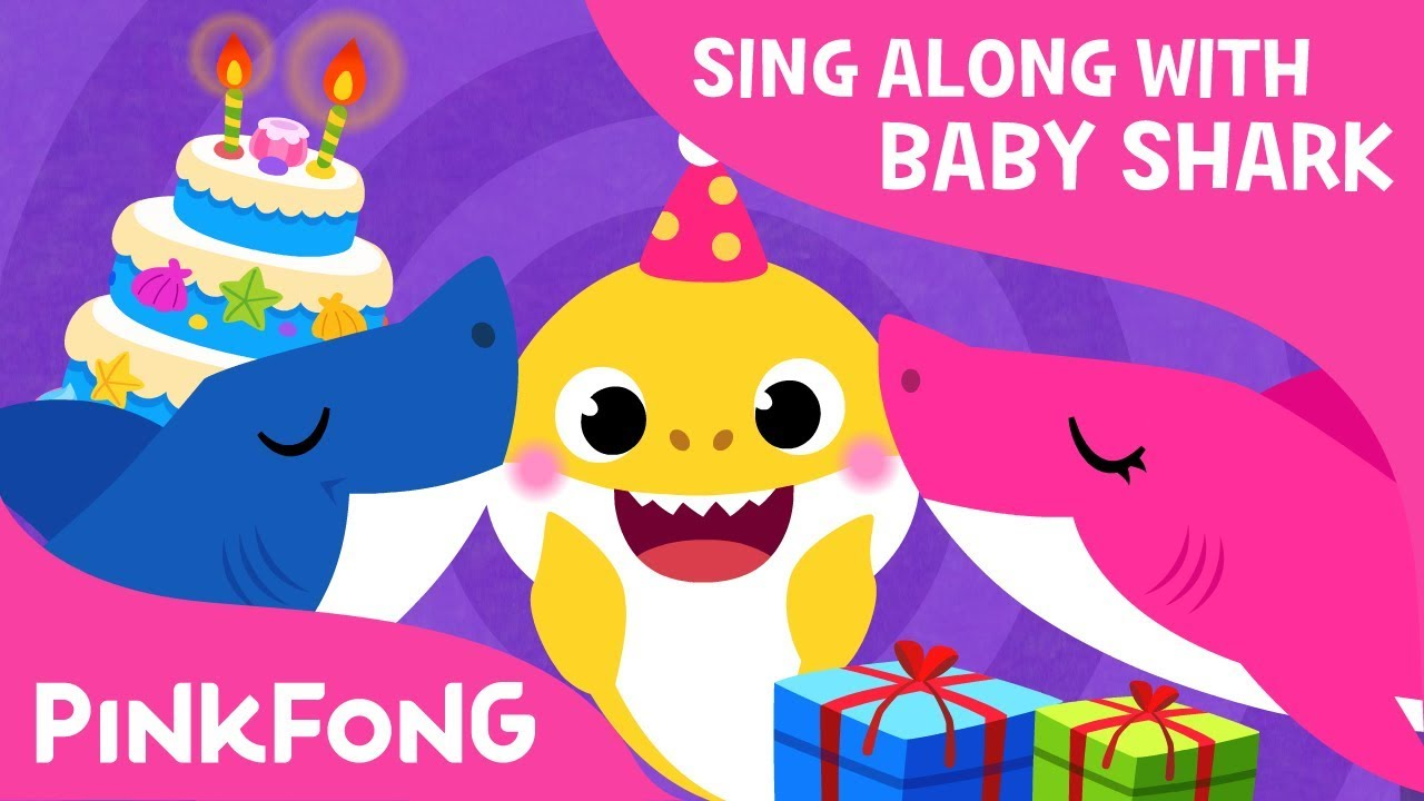baby shark s birthday sing along with baby shark pinkfong songs for children