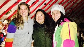 Ronda Rousey Joins Standing Rock Protest of Dakota Access Pipeline