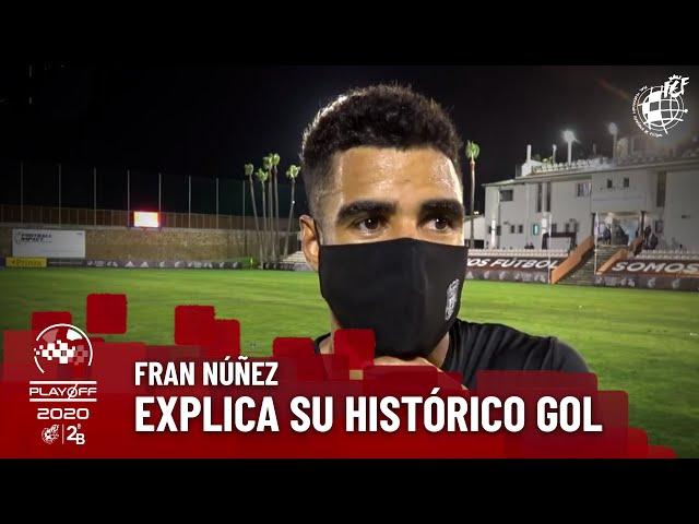 ⚽️ Fran Núñez explica su histórico gol para la Peña Deportiva: