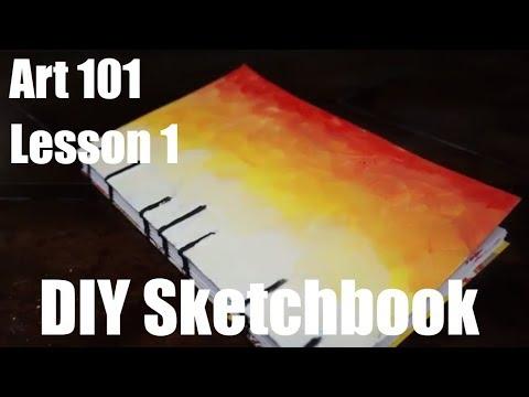 Art 101: How to Make a Sketchbook