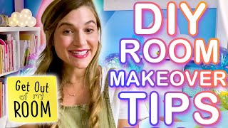 Easy DIY Room Makeover Tips from Get Out of My Room! | Universal Kids