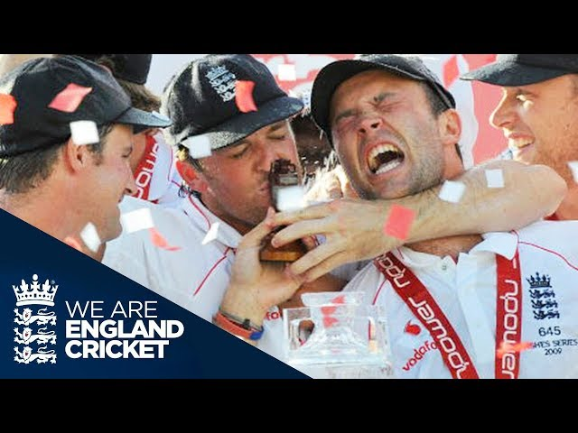 Scores A Hundred And Wins The Ashes: Jonathon Trotts Extraordinary Debut - The Oval 2009