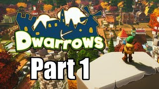 DWARROWS Gameplay Walkthrough Part 1 - No Commentary [PC Steam 1080p]