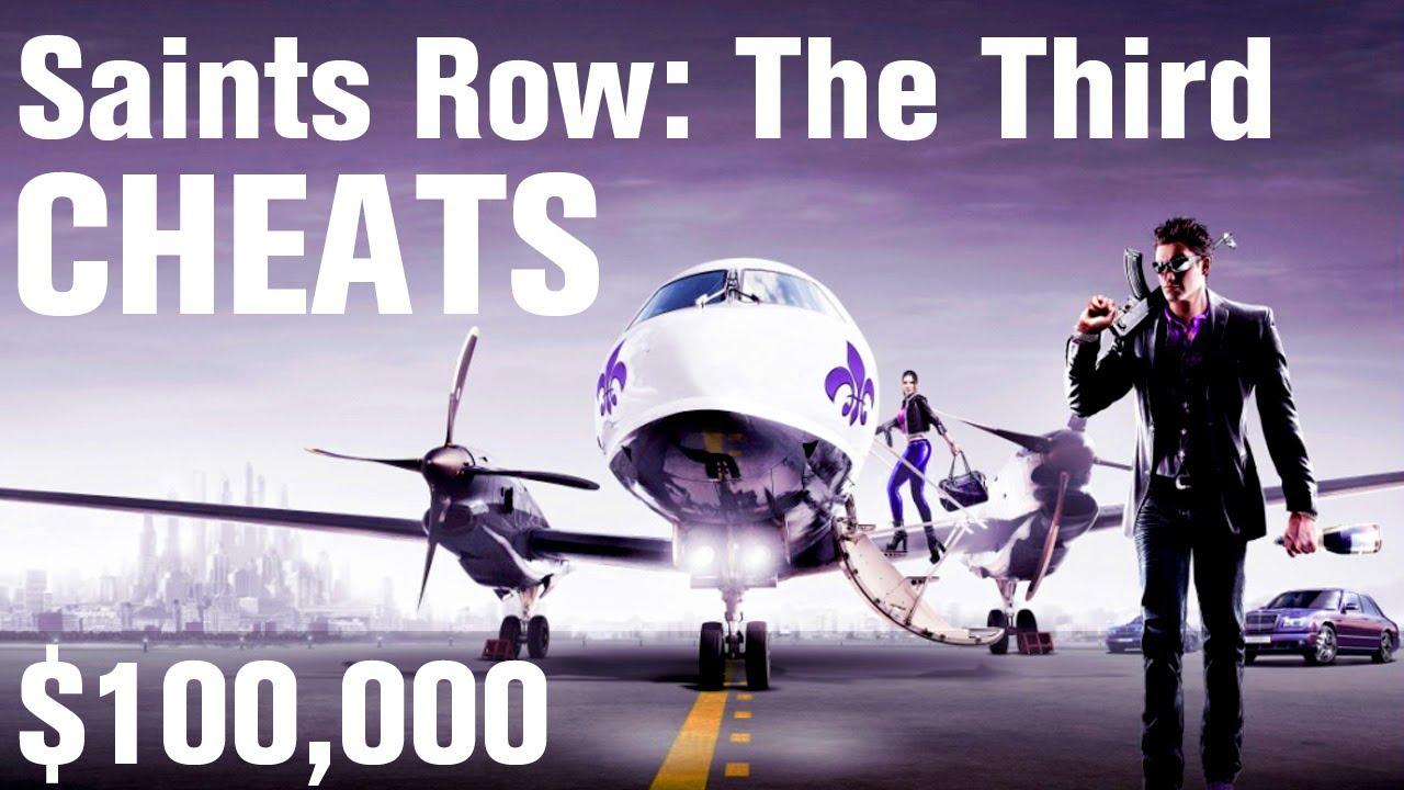 Saints Row 3 Cheats Money Youtube