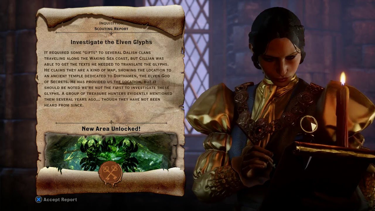 Scattered Glyphs - Dragon Age Inquisition Wiki Guide - IGN