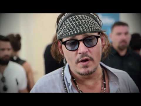 What Can't Johnny Depp Live Without?