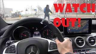 2016 Mercedes Benz C Class C200 Drive Review Test Fuel Consumption driving W205