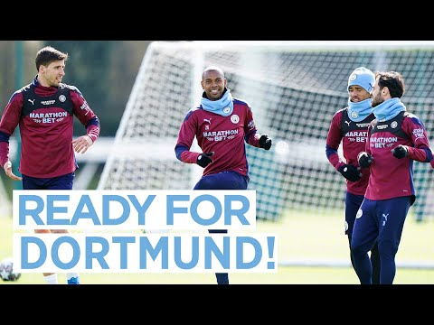 PREPARING FOR THE SECOND LEG! | DORTMUND TRAINING