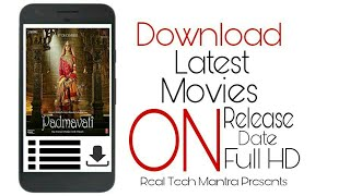 How To Download Latest Bollywood Movies On Release Date | Full HD | 4K Ultra HD | 720p