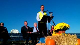 Bunn, NC  Solar Farm Opening Ceremony Olee Joel Olsen Jr Speech
